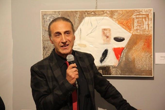 Si è chiusa al Porta Coeli International Art Gallery la mostra 'Sigillo di/segni' di Comminiello