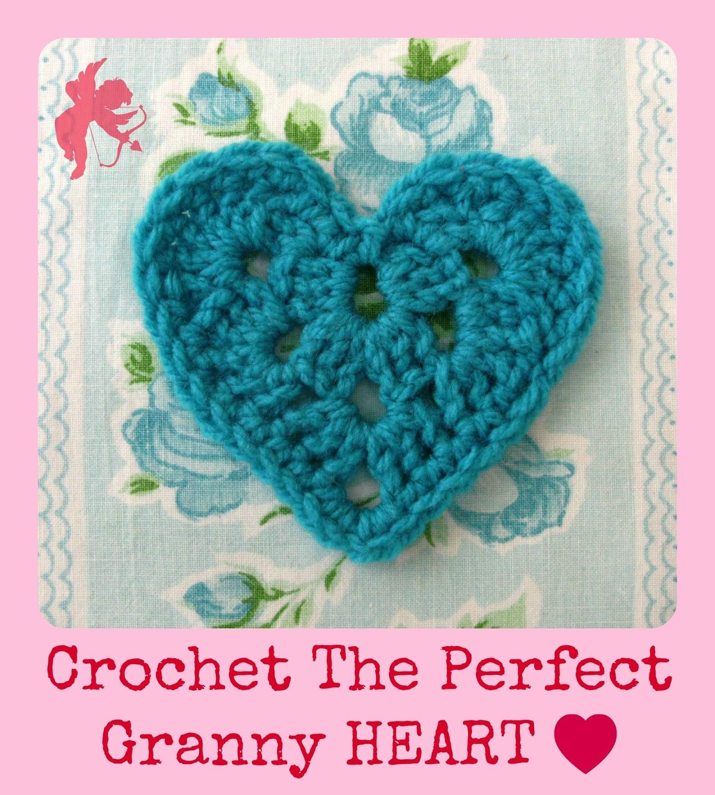 Crochet Granny Square Diagram Excretory System Labeled Alexandra Mackenzie Heart And Garland Pattern
