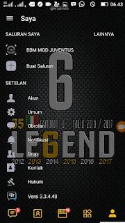 BBM MOD Juventus v3.3.4.48 APK