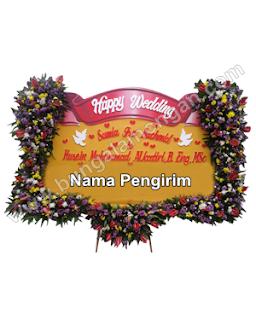 bunga papan wedding lamongan ibu tin 03
