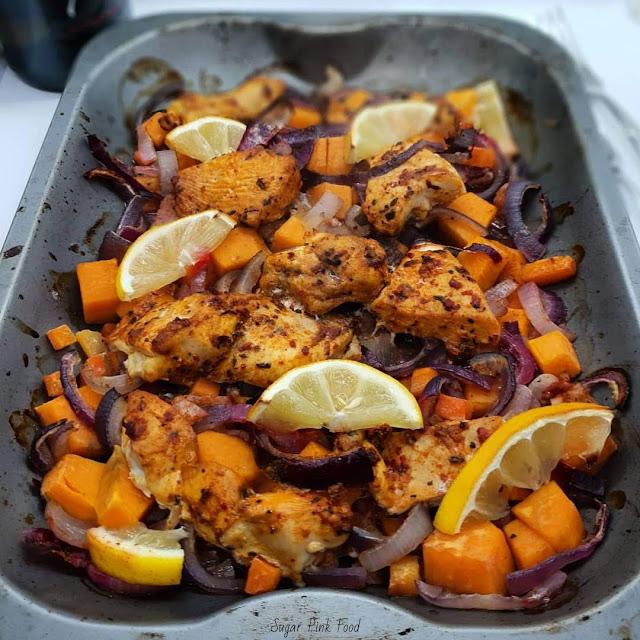 Cajun Chicken Tray Bake, cajun slimming world chicken