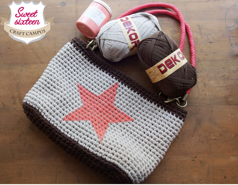 Sweet Sixteen Craft Store Tienda Taller De Labores Tutorial - Bolsos-ganchillo-crochet