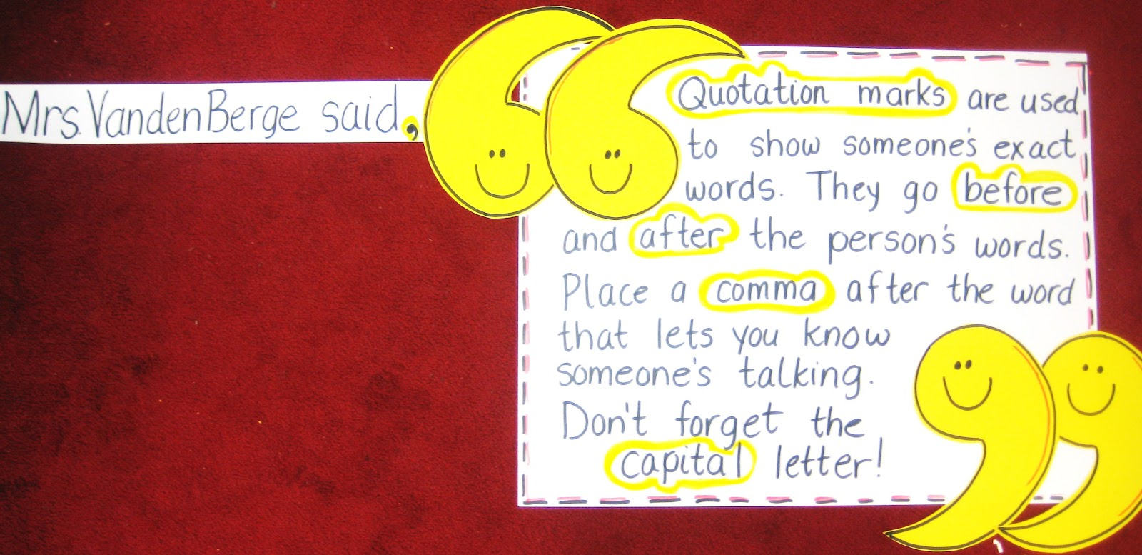 First Grade Wow: Quotation Station - photo#3