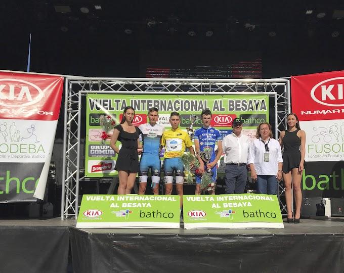 Álex Martín, ganador final de la Vuelta al Besaya