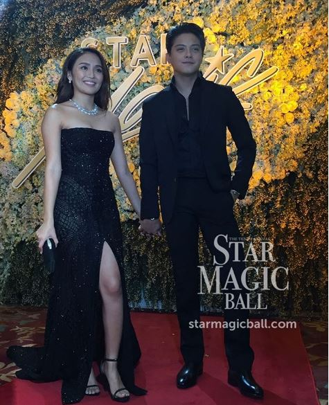 KATHNIEL Star Magic Ball 2016