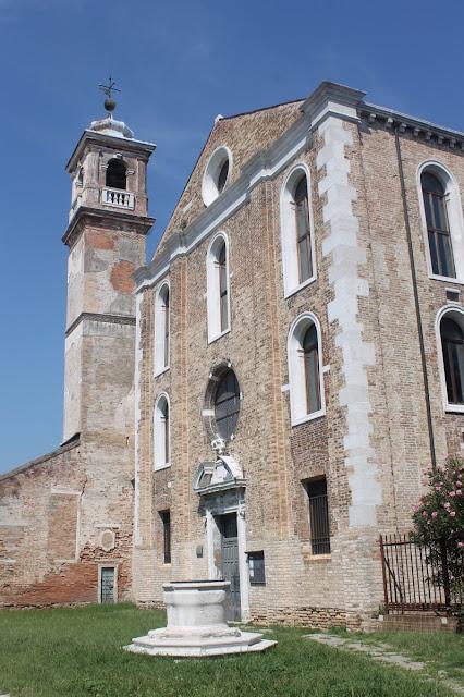 The church of Santa Maria degli Angeli, Murano.