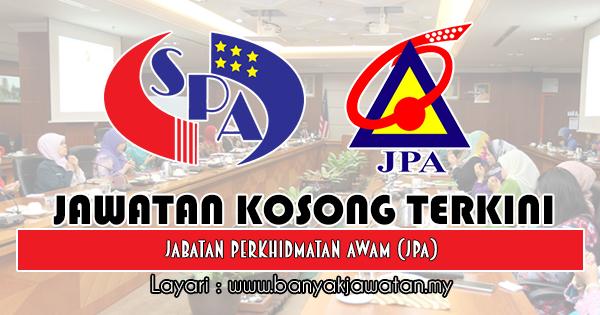 Jawatan Kosong 2018 di Jabatan Perkhidmatan Awam (JPA)