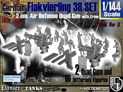 1-144 Flakvierling 38 Set 1 picture 1