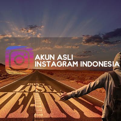 Akun Asli Instagram Artis Indonesia,Akun Asli Instagram Orang terkenal di Indonesia,Akun Asli Instagram Orang Beken di Indonesia
