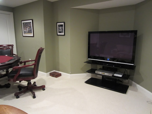 Man Cave Essentials - a Large Screen TV of course!