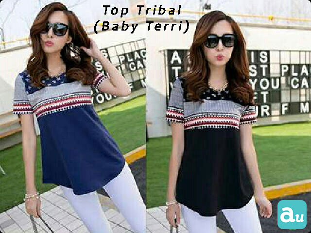 Jual Blouse Tribal Top - 13310