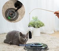 Logo Vinci gratis un giocattolo per il tuo amico gatto!