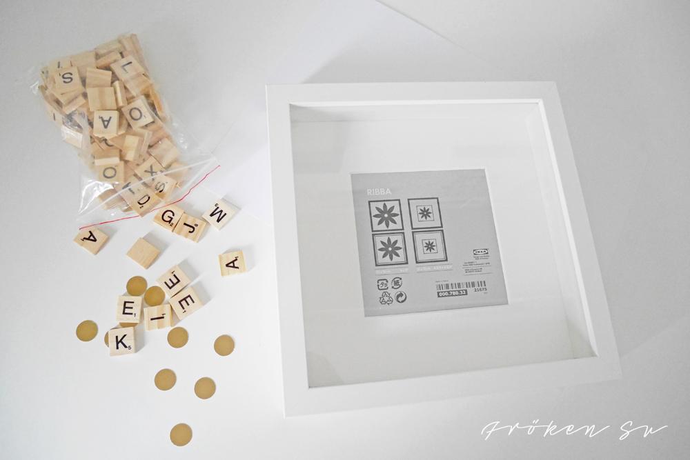 fr ken su mein kreativblog diy hochzeitsgeschenk kreativ mit scrabble. Black Bedroom Furniture Sets. Home Design Ideas
