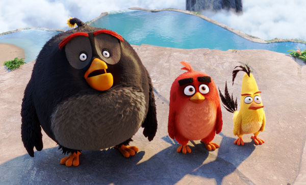 Mini Review: THE ANGRY BIRDS MOVIE (2016)