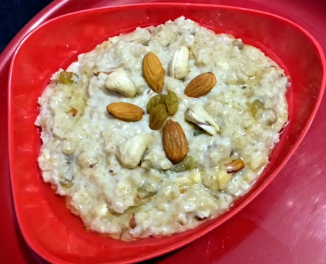 oats with dry fruits