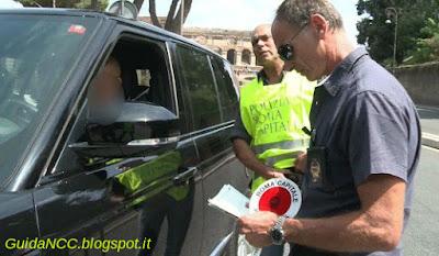 Licenze NCC sequestri in provincia di Roma