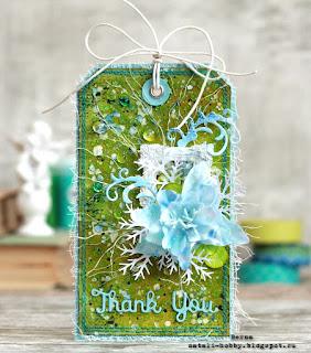 подарочная бирка, открытка ручной работы
