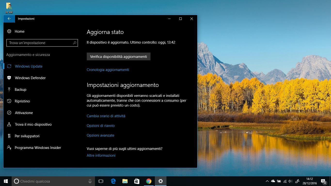 In Windows 10 arriva la possibilità di mettere in pausa e rimandare gli Aggiornamenti HTNovo