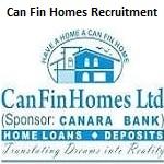 Can Fin Homes JOC, Sr Manager Recruitment 2019