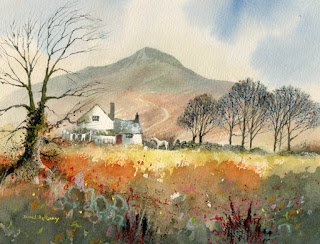 David Bellamy - Substituting detail in a landscape painting (2/2)