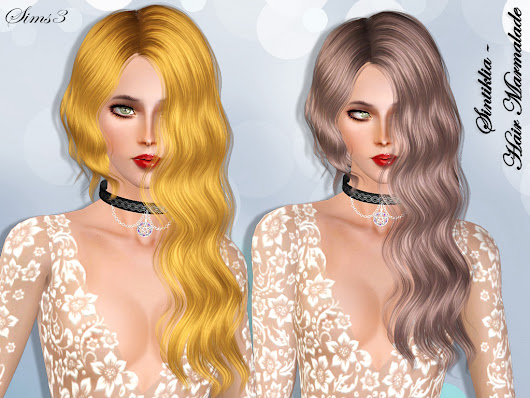 Sintiklia - Hair Marmalade for Sims 3