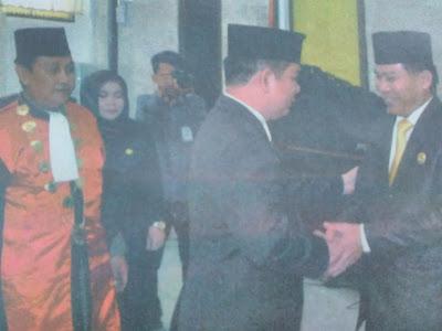 Bupati dan Ketua DPRD Kapuas Damai