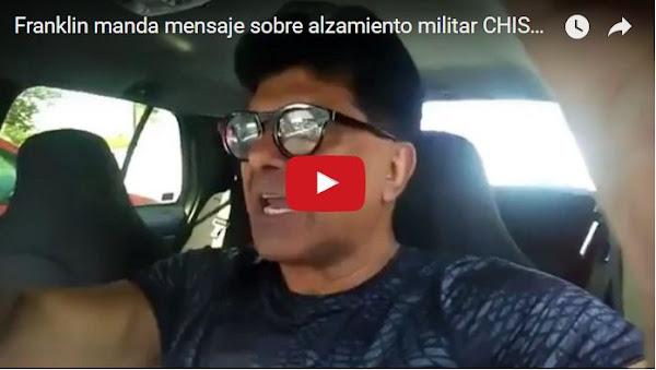 Franklin Virgüez cree que el alzamiento militar fue una cortina de humo
