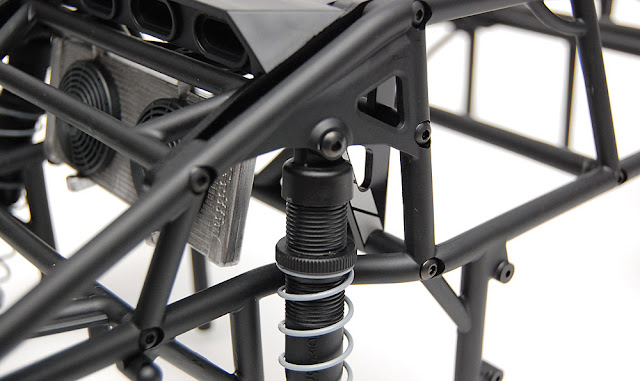 Axial Exo Terra rear shock mount