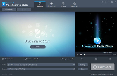 Apoersoft Video Converter Studio