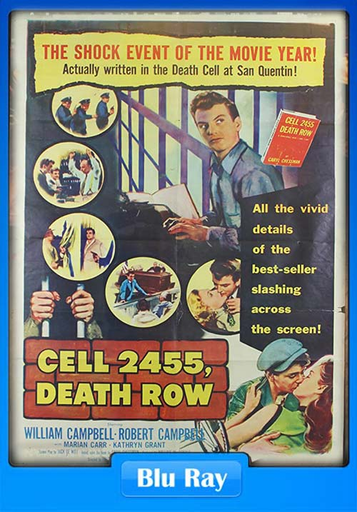 Cell 2455 Death Row 1955 720p BluRay x264 | 480p 300MB | 100MB HEVC