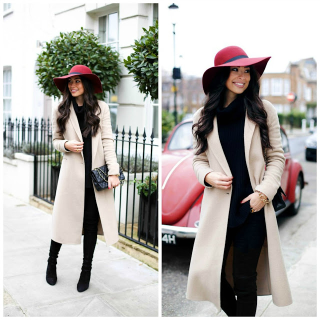With Love From Kat: Camel Coat in Knightsbridge