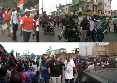 NLC Protest In Lagos
