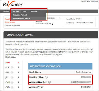 How to Send Money from PayPal to Payoneer Step 4