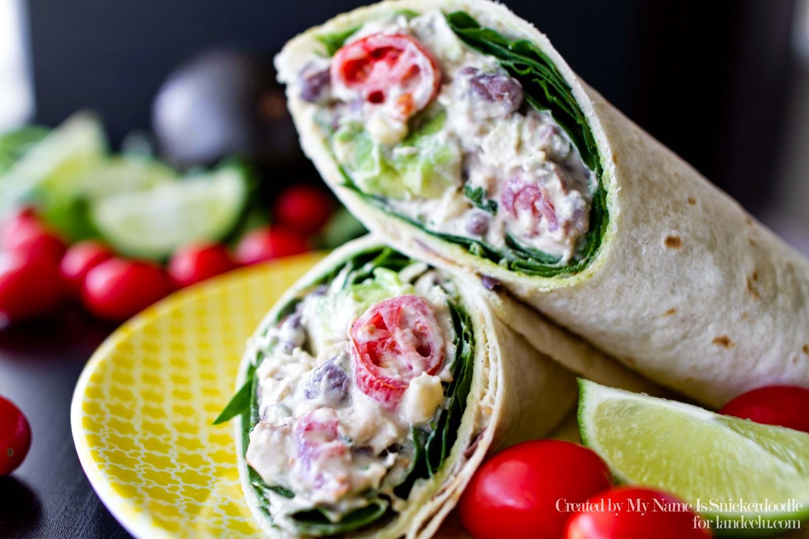 Healthy chicken salad wrap recipes