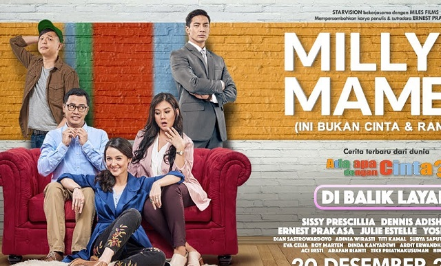 Milly & Mamet (2018) Movie Indonesia