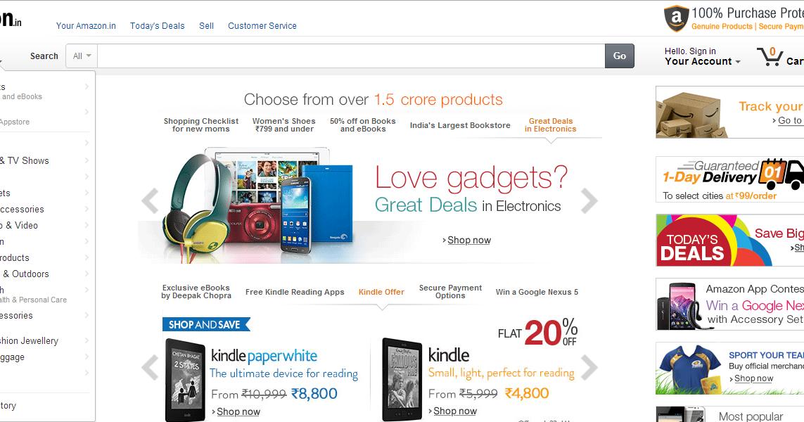 Amazon com shopping online