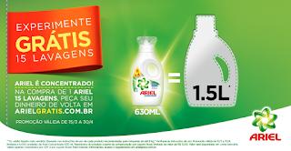 Promoção Experimente Ariel Grátis!
