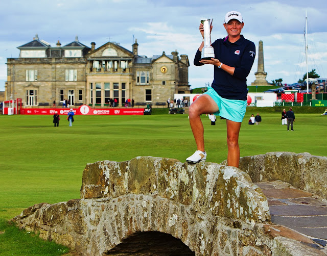 Image result for stacy Lewis wins british open at st. andrews