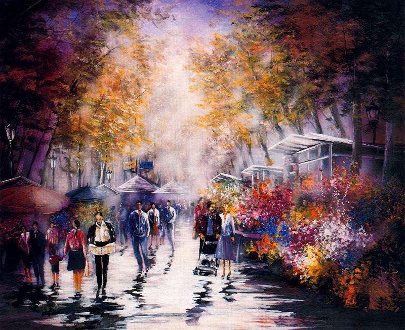 Juan Fortuny ~ Pintor impressionista