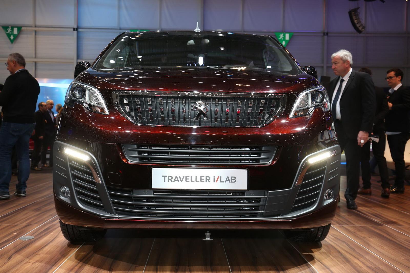 Peugeot Traveller và Traveller i-Lab Concept gây ấn tượng mạnh tại Geneva Motor Show
