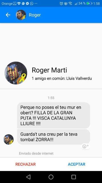 Roger Martí, podeu entrar al seu messenger a saludar-lo