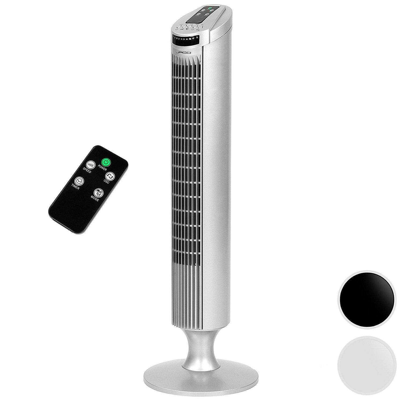 Jago ventilateur colonne avec t l commande for Bien choisir son ventilateur