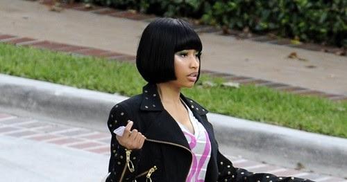 53117b1e307c Nicki Minaj Rockin  A Pair Of Margot Wedge Sandal
