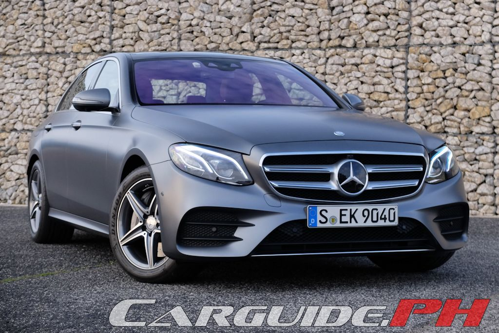 First Drive MercedesBenz EClass Philippine Car News Car - Mercedes benz philippines price list