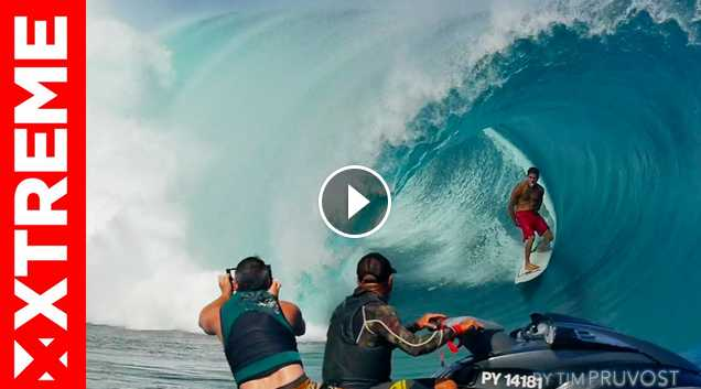 Tahitian Chargers 3 Teahupoo First Swell of the Season