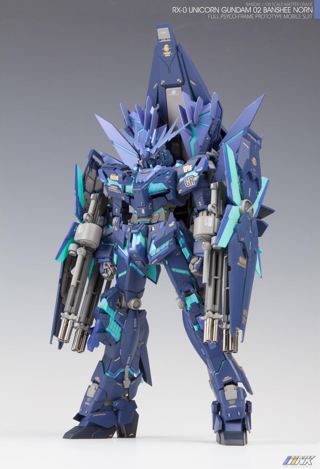 Gundam Guy Mg 1 100 Unicorn Gundam 02 Banshee Norn Painted Build