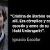 """Ignacio Escolar: """"Sin la infanta no habría habido negocio, con ella se gastó el botín"""""""