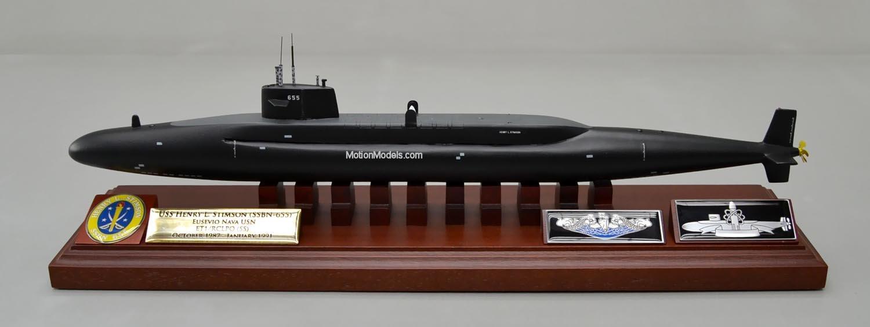 -Boomer USN Navy USS BENJAMIN FRANKLIN SSBN 640 US Naval submarine
