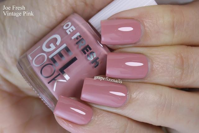 joe fresh gel look vintage pink