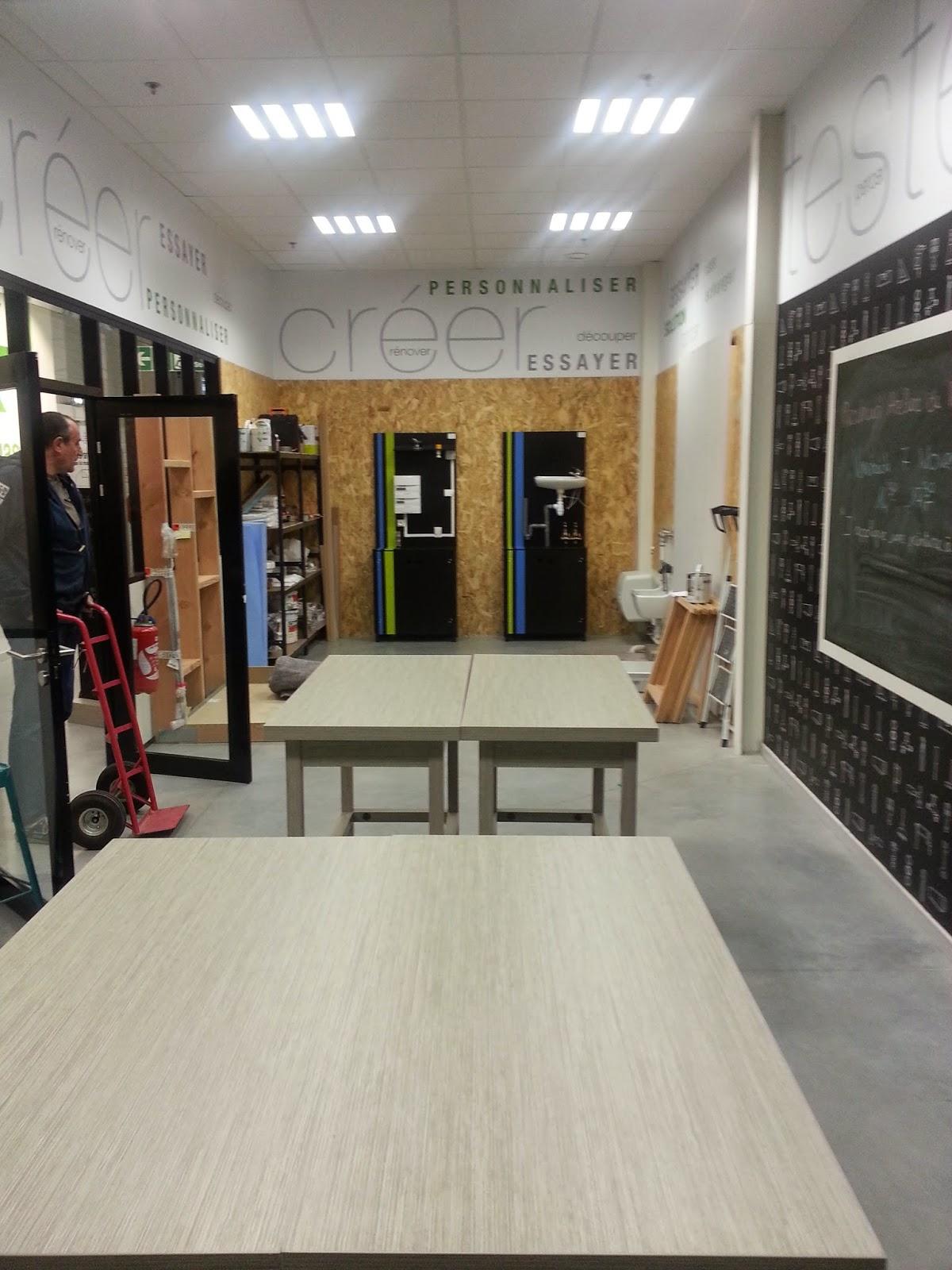 installation de nos cr ations pour les cours lectricit. Black Bedroom Furniture Sets. Home Design Ideas